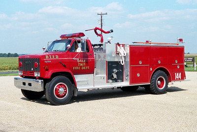 DALE TOWNSHIP FPD  ENGINE 146  CHEVY TOP KICK - PIERCE