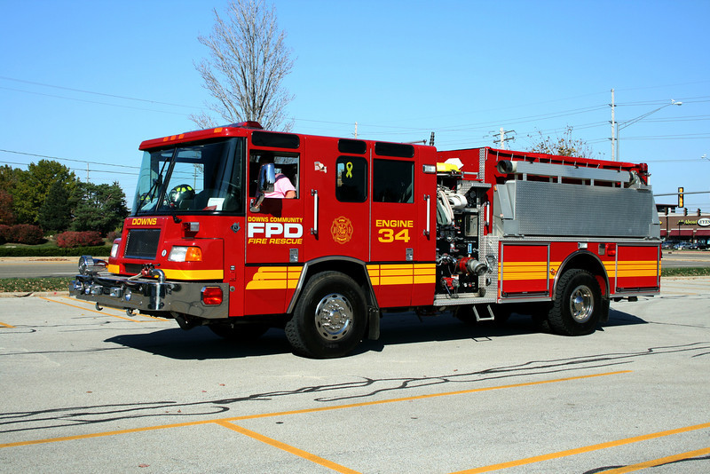 DOWNS FPD  ENGINE 34