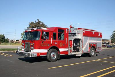 LEXINGTON FPD  ENGINE 72  2013 PIERCE SABER  1500-1000   #26839