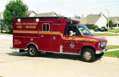 RESCUE 20  FORD E-350 -