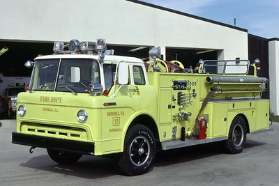 NORMAL ENGINE  1968 FORD C - AMERICAN 1000-    RON HEAL PHOTO