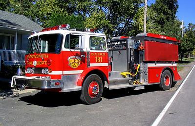 SAYBROOK - ARROWSMITH FPD  ENGINE 181  1979  DUPLEX R300 - US TANKER   750-1800