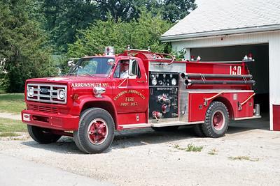 SAYBROOK-ARROWSMITH FPD  ENGINE 174  1978  GMC - PIERCE   750-750    7093-D1    ON THE RAMP
