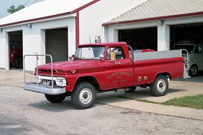 SAYBROOK-ARROWSMITH FPD  BRUSH 172  1966  GMC 4X4 - FD BUILT   100-300
