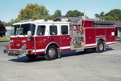 SAYBROOK-ARROWSMITH FPD ENGINE 171  1991  E-ONE HUSH   1500-750   #9201   X- PALM BEACH COUNTY FD FL