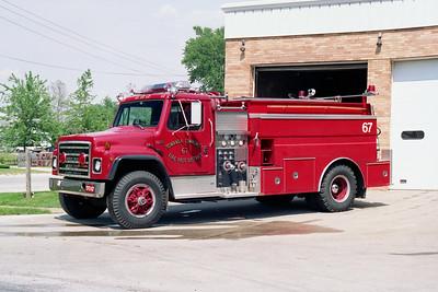TOWANDA  TANKER 67  1988 IHC S - MARION  250-1800