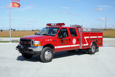 TONOWANDA BRUSH 65  2001 FORD F550 - ALEXIS  500-300-5F    #SK-644