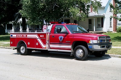 BYRON FPD  BRUSH 462  1998 DODGE RAM 3500 - US TANKER  250-300-20F   #3105