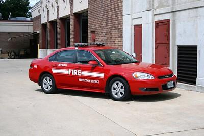 BYRON FPD  CAR 499  2009 CHEVY IMPALA