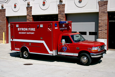 BYRON FPD  SQUAD 448  1995  FORD F-35O - EVI    INCIDENT SUPPORT