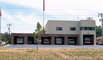 BYRON FPD  STATION 1  PREVIOUS STATION & HQ