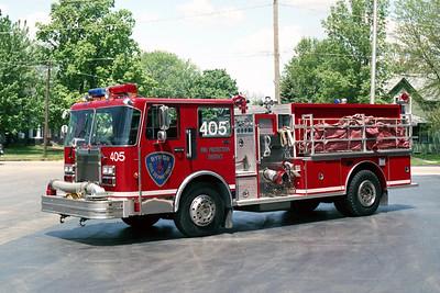 BYRON FPD  ENGINE 405  1989  SPARTAN - E-ONE   1500-1000