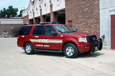 BYRON FPD  CAR 490  2008  FORD EXPEDITION  FIRE CHIEF