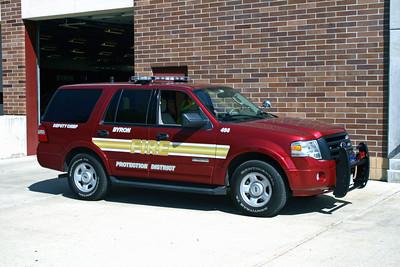 BYRON FPD  CAR 498  2008  FORD  EXPEDITION  DEPUTY CHIEF
