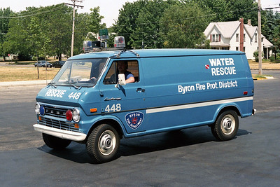 BYRON FPD  RESCUE 448  1974  FORD ECONOLINE VAN