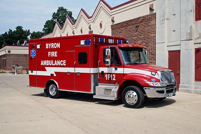 BYRON FPD  AMBULANCE 1-F-12  2010  IHC 4300 - MEDTEC