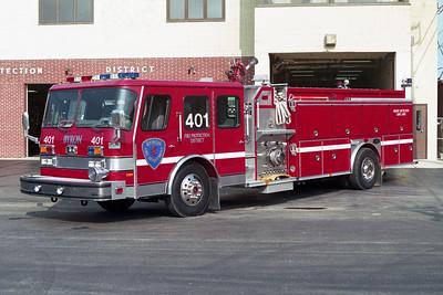 BYRON FPD  ENGINE 401  1993  E-ONE HUSH   1500-1000