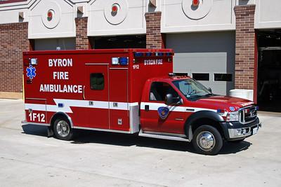 BYRON FPD  AMBULANCE 1-F-12  2007  FORD F-450 - MEDTEC