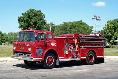 BYRON FPD  ENGINE 405  1974  FORD C900 - WLF   1000-750