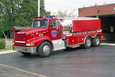 BYRON FPD  TANKER 473  1998  IHC 2674 - US TANKER  250-3500   #3069