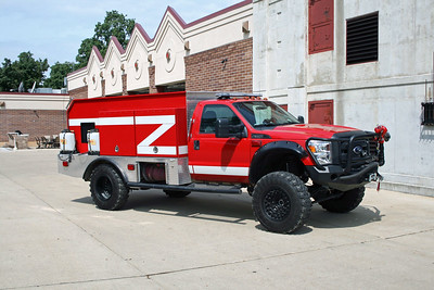 BYRON FPD  BRUSH 2012  FORD F-550  4X4 - GENERAL FIRE EQUIPMENT  490-500-20F   NO LETTERING