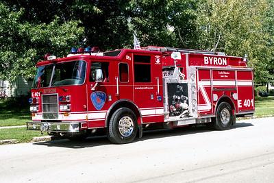BYRON FPD  ENGINE 401  2002  PIERCE DASH   1500-1000-20A-20B   #13106