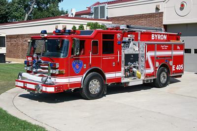 BYRON FPD  ENGINE 405  2008 PIERCE DASH  1500-1000-30A-30B
