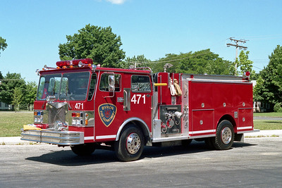 BYRON FPD  ENGINE 471  1984  SPARTAN - DARLEY   1500-1500    NOW AT GERMAN VALLEY FPD