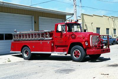FORRESTON ENGINE 3   1973 FORD L - ALEXIS  500-1250