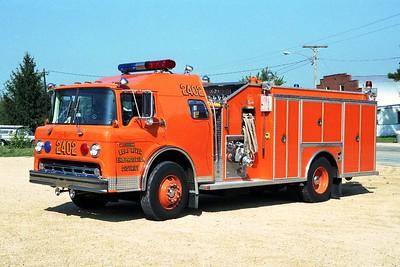 LEAF RIVER  ENGINE 2402  1987 FORD C-8000 - ALEXIS  1250-1000