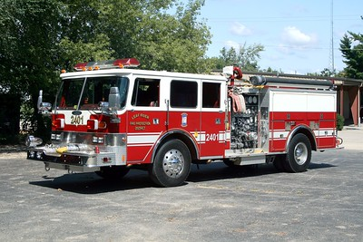 LEAF RIVER ENGINE 2401 1982 PIERCE ARROW (O)  2000-750  X-STEPHENS CITY FD,VA WAGON 11