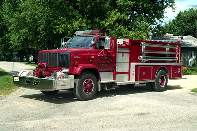ENGINE 5071  GMC TOPKICK - DARLEY