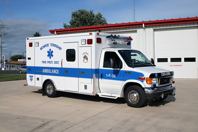 MONROE TOWNSHIP AMBULANCE 1-F-32