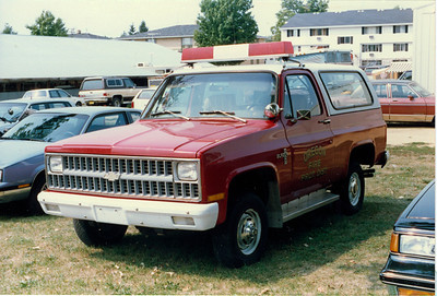 OREGON FPD CHEVY