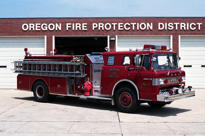 OREGON ENGINE 3  OFFICERS SIDE