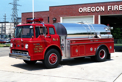 OREGON FPD TANKER 6  FORD C-8000