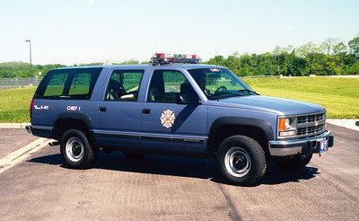 ILLINOIS AIR NATIONAL GUARD  CHIEF 1  CHEVY SUBURBAN