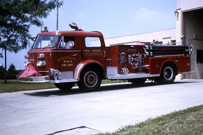 PEORIA  ENGINE 15  1959 ALFCO 1000-500   RON HEAL PHOTO