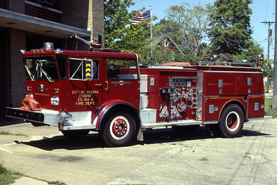 PEORIA  ENGINE 4 ALFCO PIONEER  1250-500   RON HEAL PHOTO