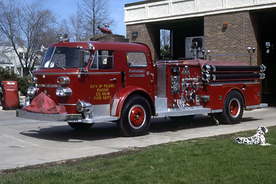 PEORIA  ENGINE 10  1959 ALFCO 1000-500   RON HEAL PHOTO