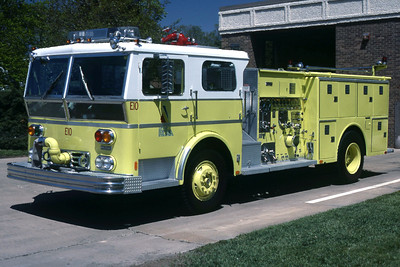 PEORIA  ENGINE 15  1976 WLF  1500-500   RON HEAL PHOTO