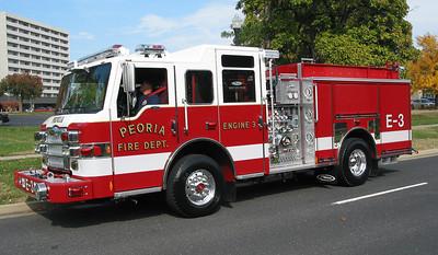 Peoria FD Eng 3 2013 Pierce pumper