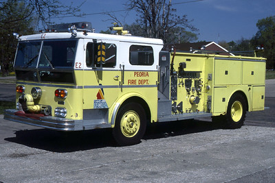 PEORIA  ENGINE 2 1970 WLF  1250-500   RON HEAL PHOTO
