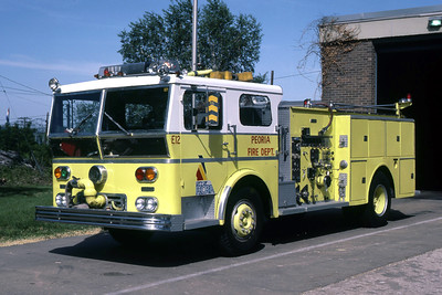 PEORIA  ENGINE 12  1970 WLF  1250-500   RON HEAL PHOTO