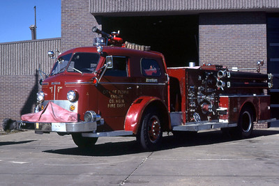 PEORIA  ENGINE 14  1958 ALFCO 1000-500   RON HEAL PHOTO