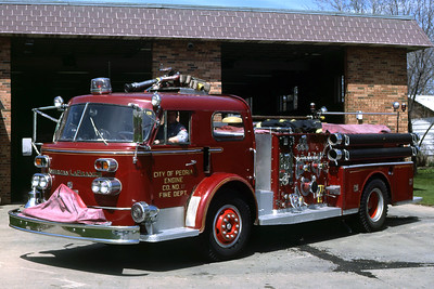 PEORIA  ENGINE 11  1965 ALFCO  1000-500   RON HEAL PHOTO