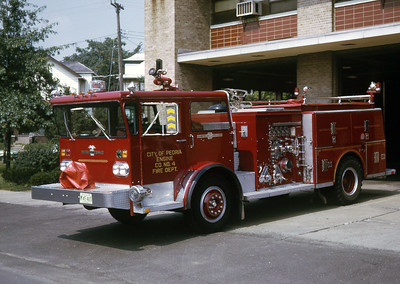 PEORIA  ENGINE 4 1972 ALFCO PIONEER   1250-500   RON HEAL PHOTO