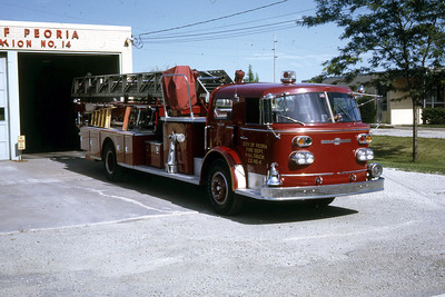 PEORIA  TRUCK 4  1966 ALFCO  100'  RON HEAL PHOTO
