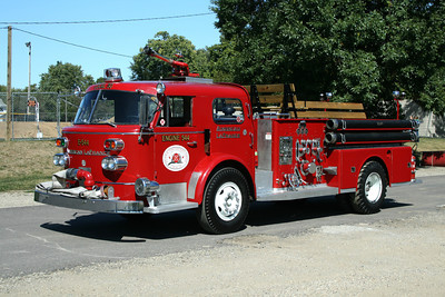 PEORIA FF ASSOCIATION ENGINE 554