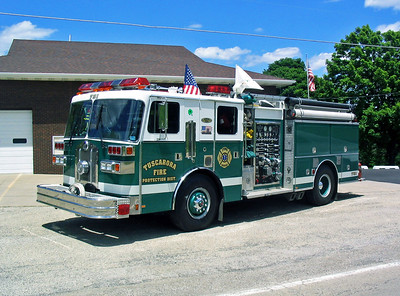TUSCARORA FPD    ENGINE 731 1989  SUTPHEN   1250-750-30A   HS- 2322  X-LOWER PROVIDENCE,PA
